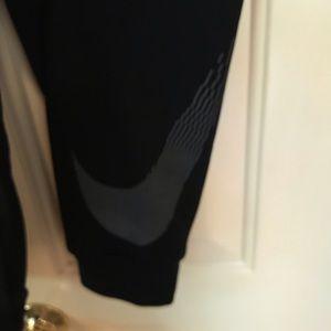 Nike Pants - Black nike men's Dri-fit joggers